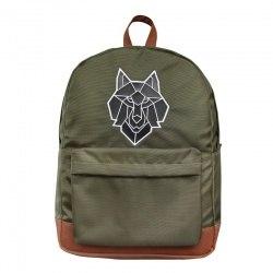 Grand sac à Dos Loup Kaki