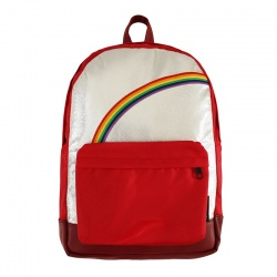 Red Rainbow Large backpack