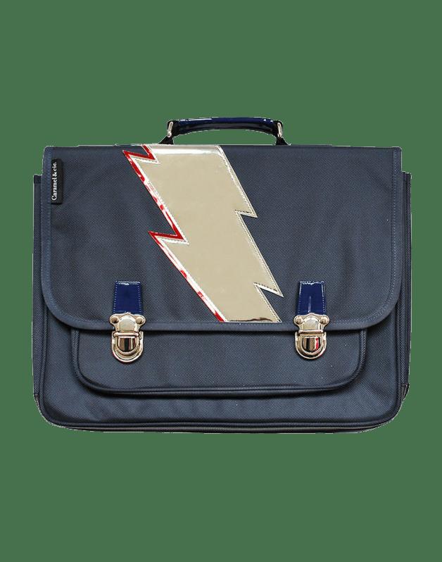 Large Schoolbag Blue lightning