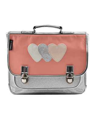 Large Pink Heart satchel