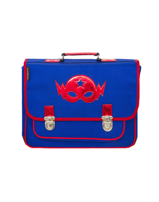 Medium Schoolbag Blue Mask