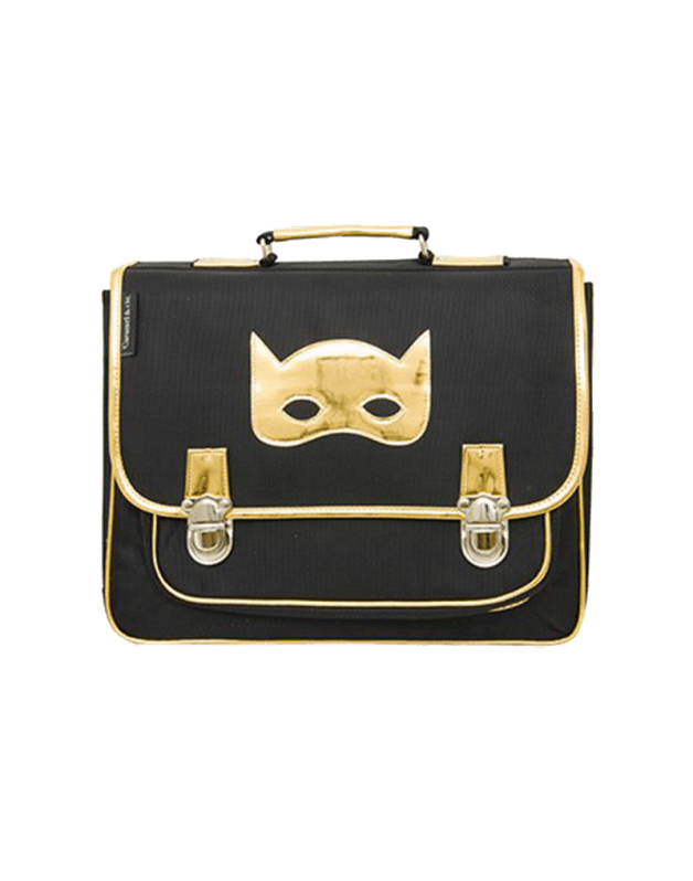 Medium Schoolbag Black Mask