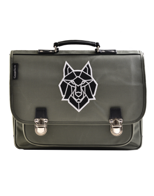 Large Schoolbag Grey Wolf