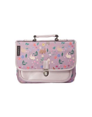 Mini Schoolbag Purple Rabbits