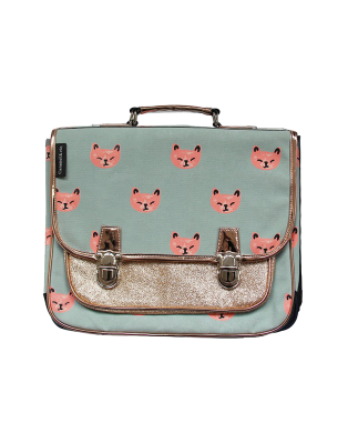 Medium Pink Cats satchel