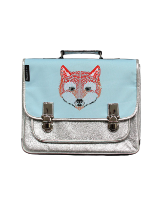 Medium Bicolor Fox satchel