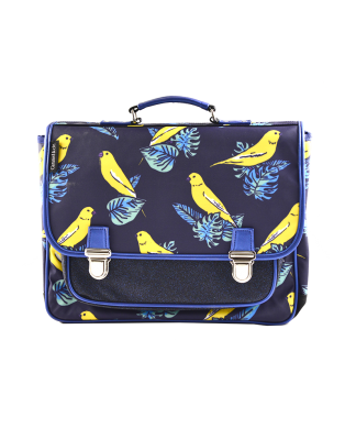 Medium Schoolbag Canaries