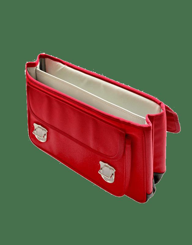 Schoolbag Medium Red Lightning