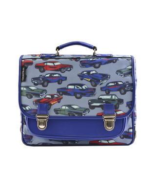 Medium Schoolbag Cars