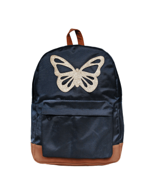Bleu Butterfly Large backpack