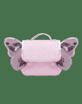 Butterfly Bag Pink Glitter
