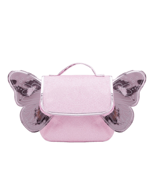 Sac papillon Rose paillettes
