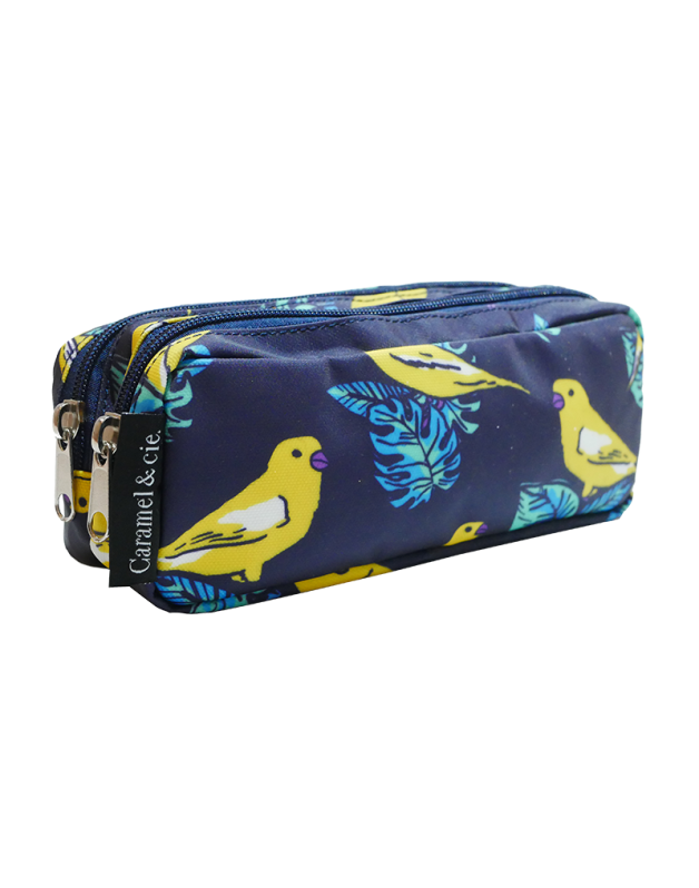 Double Pencil Case Canaries
