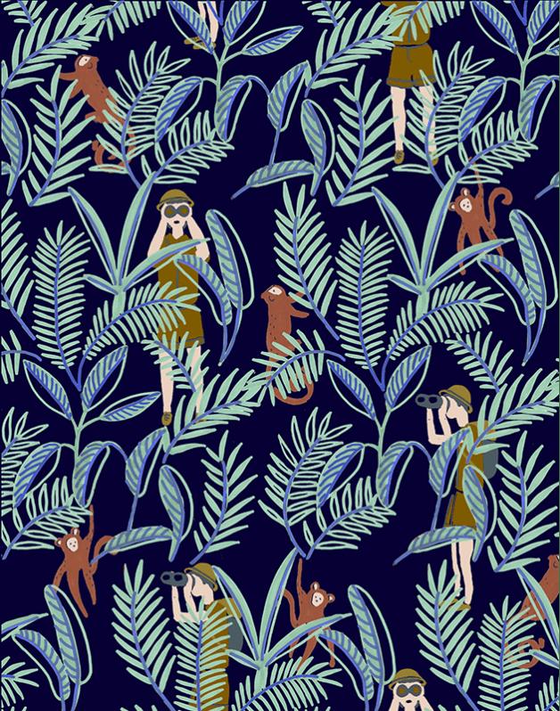 Trousse Double Jungle
