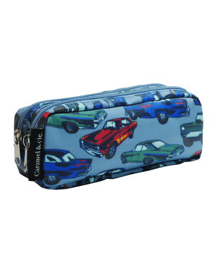 Double Pencil Case Cars