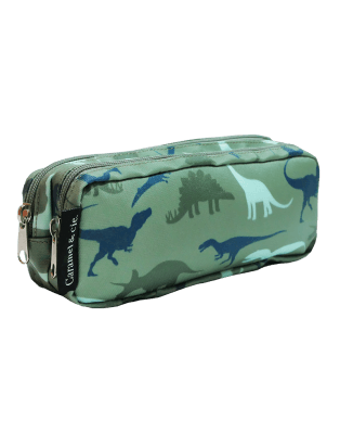Double Pencil Case Dinosaurs