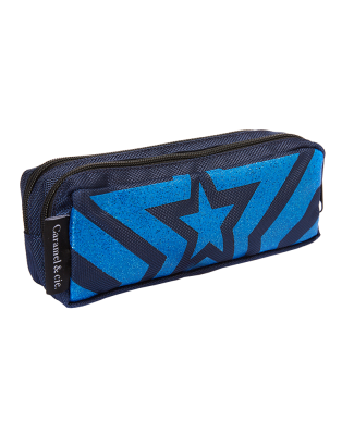 Double Pencil Case Blue...