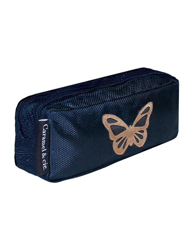 Double Pencil Case Butterfly