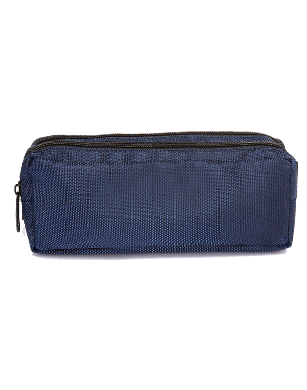 Double Pencil Case Blue Lightning