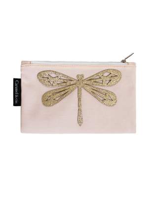 Large pencil case dragonfly