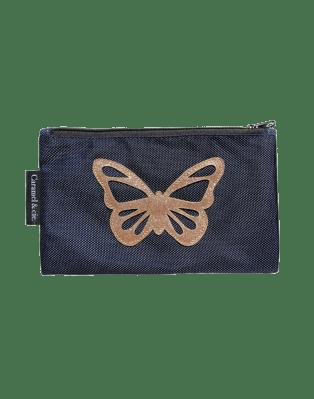 Grande trousse Papillon Bleu