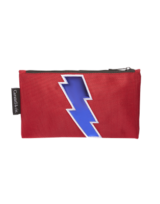 Large pencil case red...