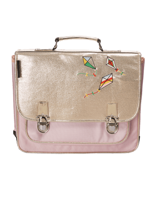 Large Pink Kite satchel