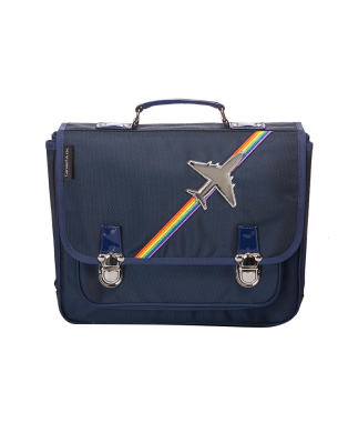 Medium Schoolbag Airplane