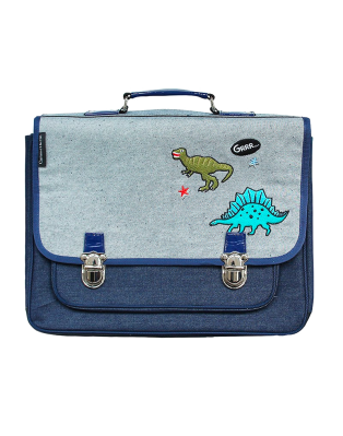 Large Dino World satchel