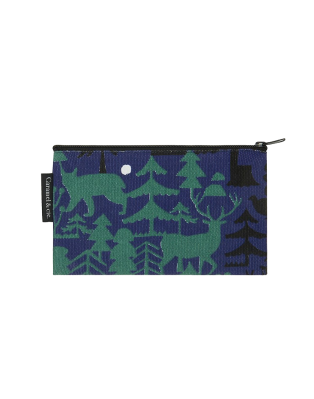 Grande trousse motif Forêt