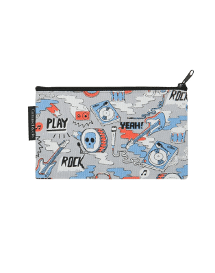Grande trousse Rock Band gris