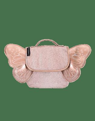 Sac papillon paillettes Cuivre