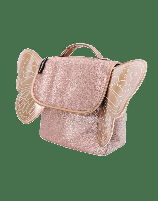 Butterfly bag copper glitter