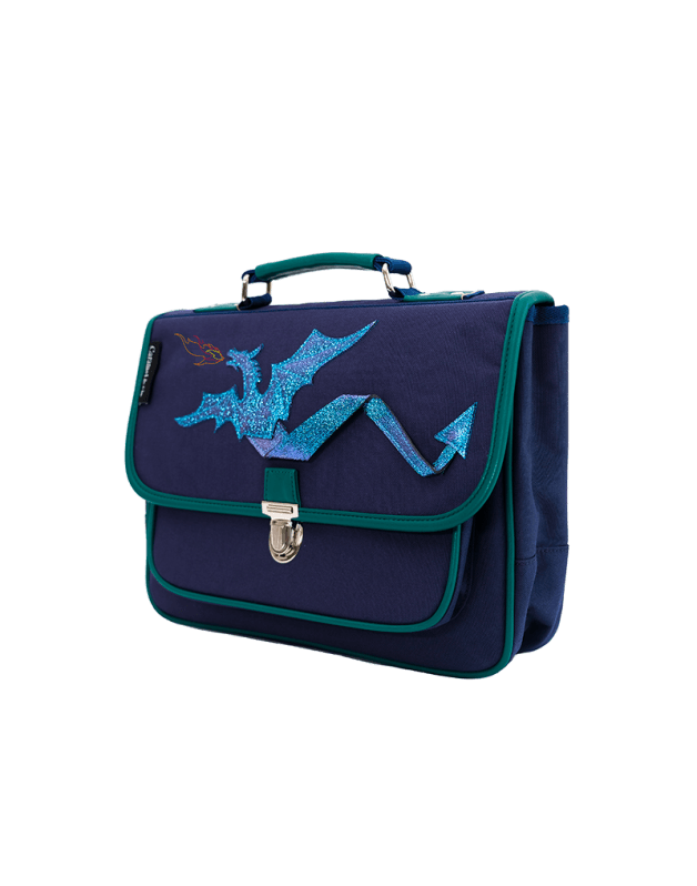 Mini schoolbag dragon