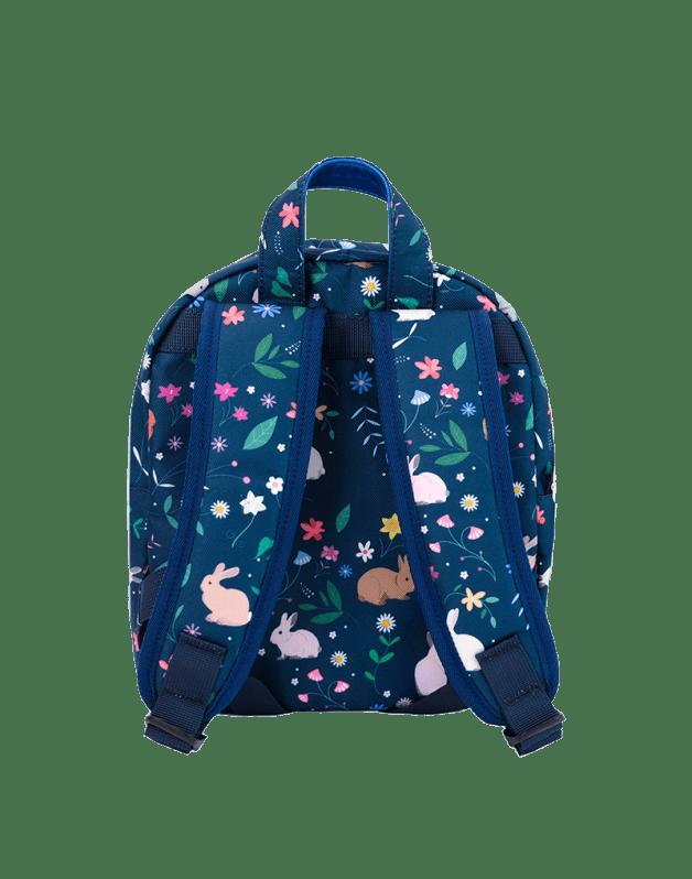 Petit sac à dos lapins bleus