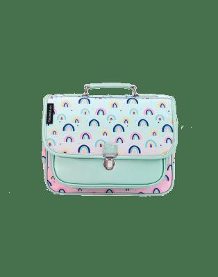 Mini schoolbag rainbow