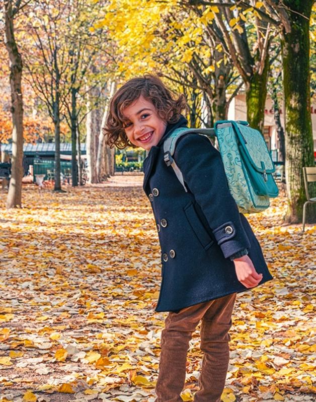Mini schoolbag Dino family