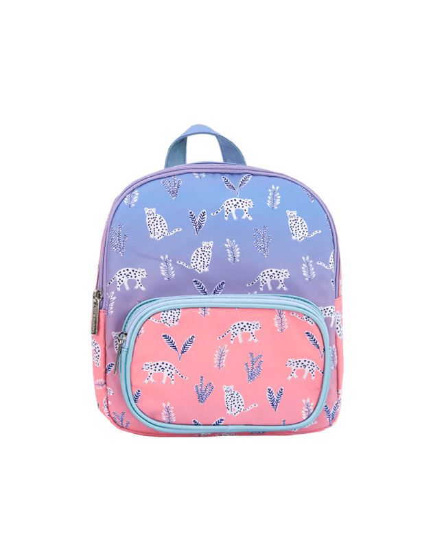 Mini backpack leopards