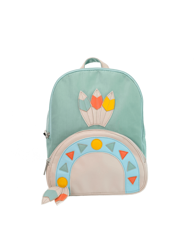 Small indian backpack
