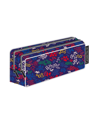 Double pencil case Eden garden