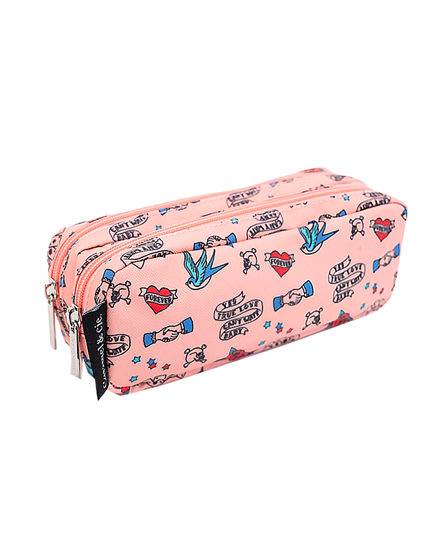 Double pencil case Cool Tattoos