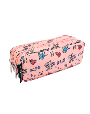 Double pencil case Cool...
