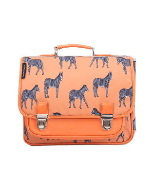 Medium schoolbag Zebra