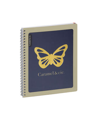 Homework diary Blue Butterfly