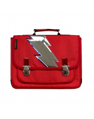 Large Schoolbag Red lightning