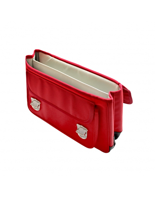 Grand Cartable Eclair rouge