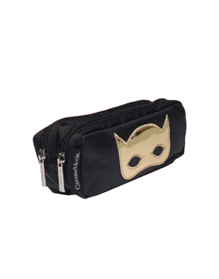 Double pencil case Black Mask