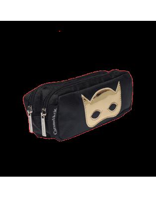 Trousse double Masque noir