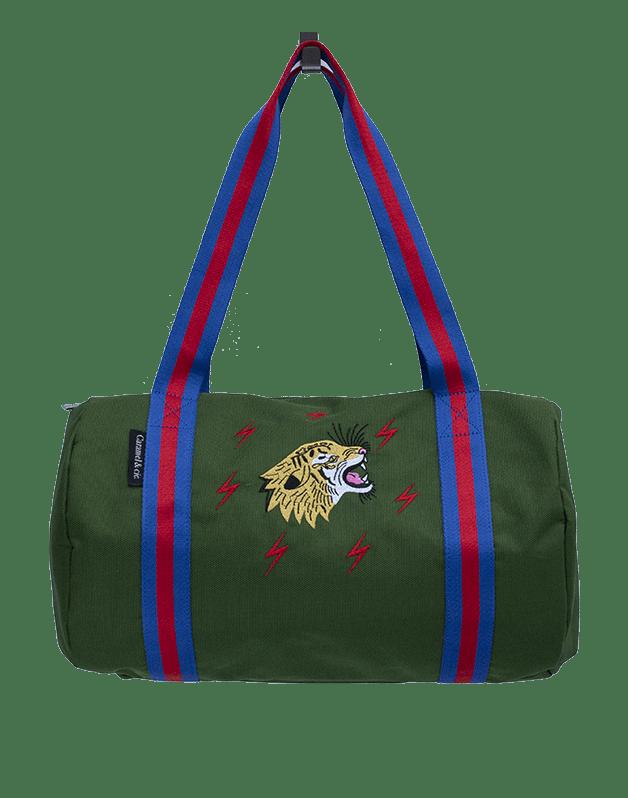 Week-end bag Tiger green Grrrr