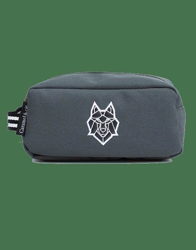 Toiletry bag grey Wolf